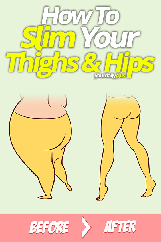Looking for the perfect exercises for slim hips and thighs? Check out this incredible routine for slim thighs - fast and easy!