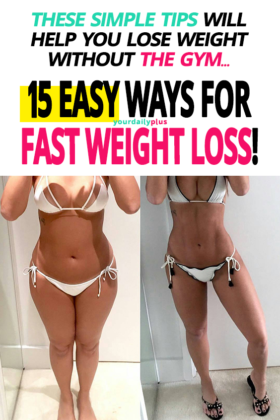 We all want to slim down without spending hours in the gym. If you want to lose belly fat, improve your health and lose weight you need to read this!