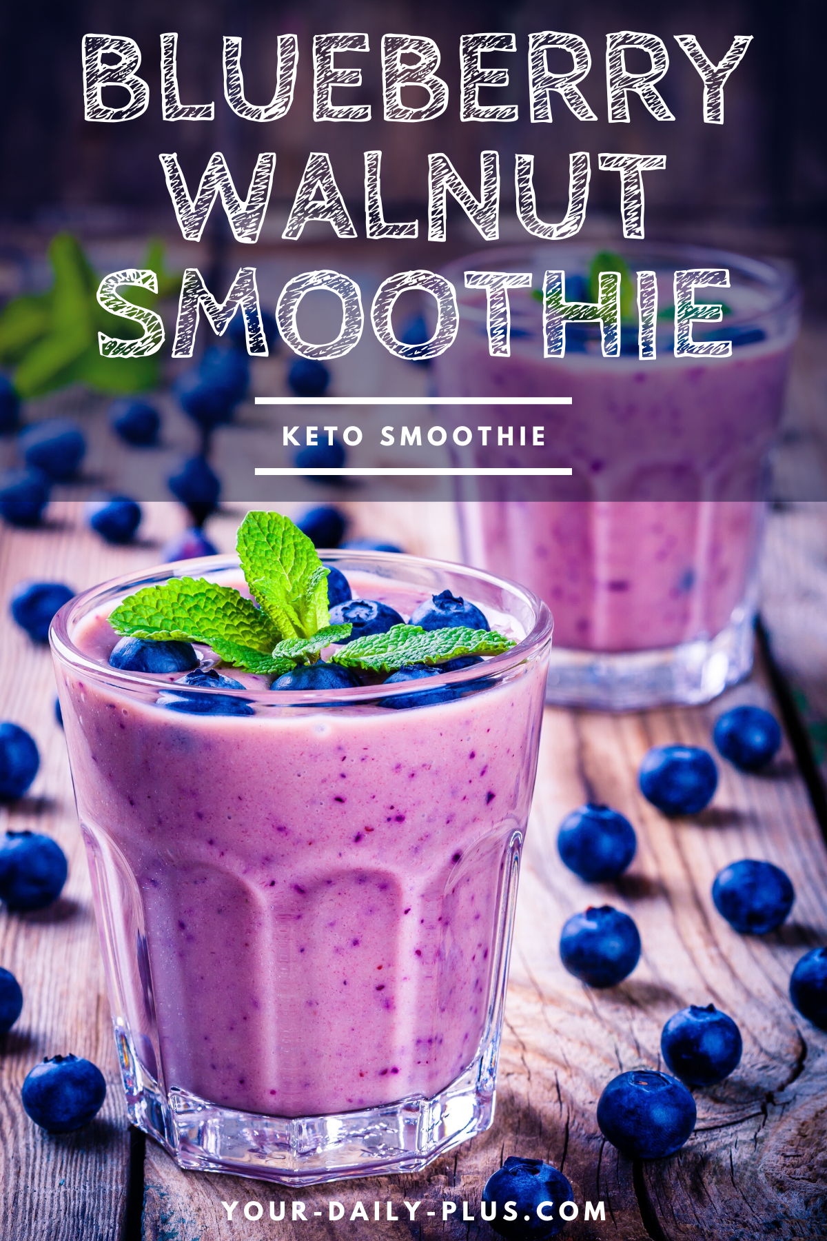 We've all surely heard of the magical anti-oxidant benefits of blueberries and so enjoying them first thing in the morning is a great way to start your waking mind. #smoothies #ketodiet #lowcarbdiet #ketogenic